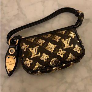Pre-loved Louis Vuitton Mini Pochette, Limited Ed.